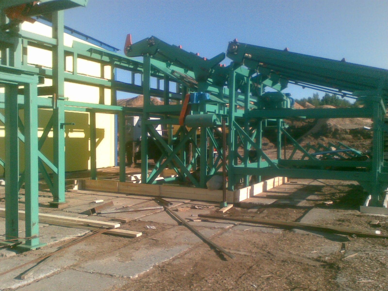 АСУ лесопильного цеха на базе станка HEWSAW R200